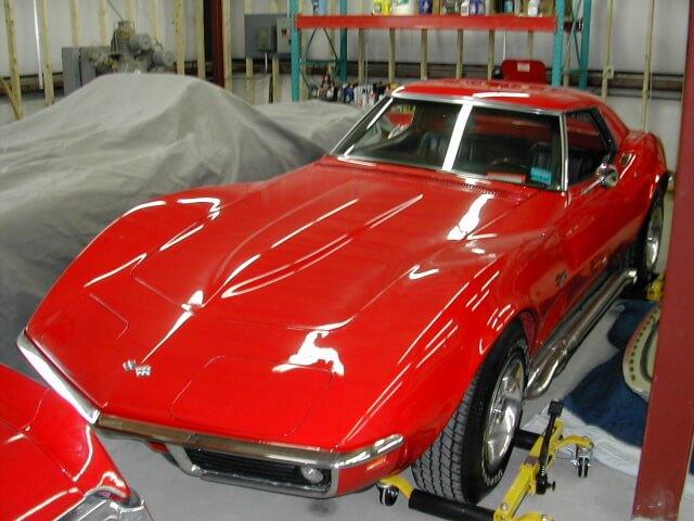1969 Chevrolet Corvette Convertible 2-Tops