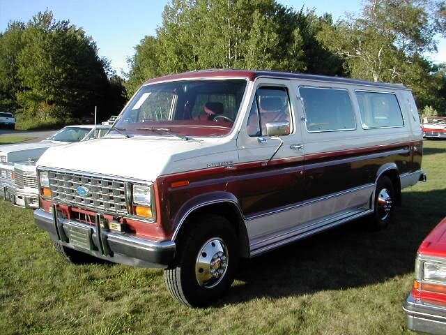 1986 Ford Econoline XL Conversion Van