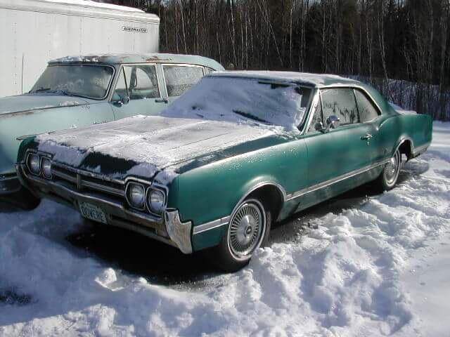 Project Car 1966 Oldsmobile Cutlass Two Door